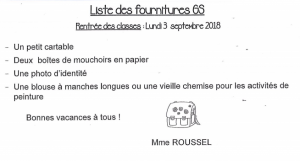 GS Mme Roussel
