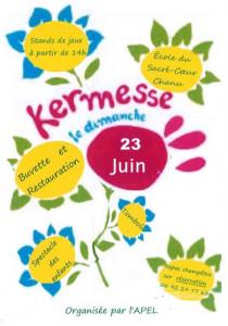 Affiche de kermesse 2019