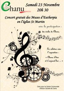 Concert du 23 novembre